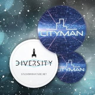 CityMan placka - bundle