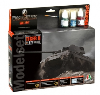 World of Tanks - Tiger II (Model Set) (1:72)