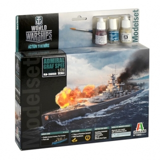 World of Warships - Admiral Graf Spee (Model Set) (1:720)