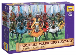 Samurai Warriors-Cavalry XVI-XVII A. D. (1:72)