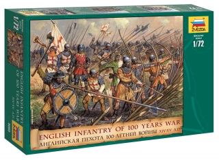 English Infantry 100 Years War (1:72)