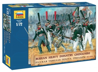 Russian Heavy Infantry Grenadiers 1812-1815 (1:72)