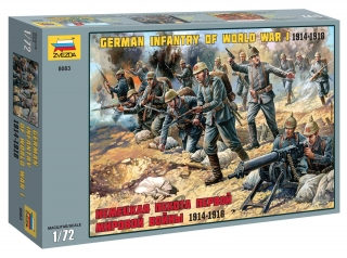 German Infantry (1:72)