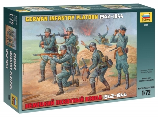 German Infantry Platoon 1942-44 (1:72)