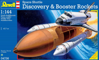 Space Shuttle Discovery+Booster Rockets (1:144)