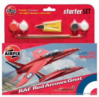 Red Arrows Gnat (1:72)