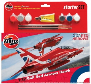RAF Red Arrows Hawk (Starter Set) (1:72)