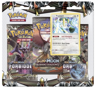 Pokémon: Sun & Moon - Forbidden Light 3 Blister Booster