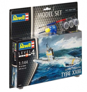 German Submarine Type XXIII (ModelSet) (1:144)
