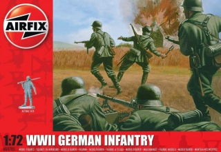 WWII German Infantry (1:72)