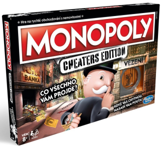 Monopoly: Cheaters edition /CZ/