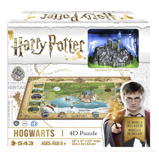 Harry Potter 4D Puzzle: Hogwarts / Bradavice