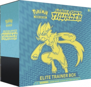 Pokémon: Sun & Moon - Lost Thunder Zeraora Elite Trainer Box