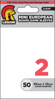 Legion - 50 Board Game Sleeve 2 - Mini European (46x72mm)