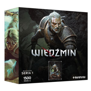 Puzzle Zaklínač (Heroes of the Witcher) - Geralt