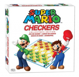 Super Mario Checkers - Dáma