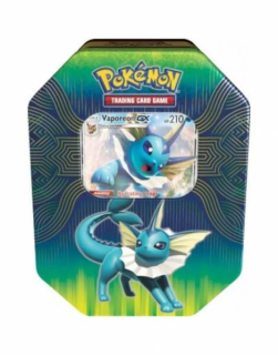 Pokémon: Elemental Power Tin - Vaporeon-GX