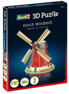 Revell 3D Puzzle Dutch Windmill