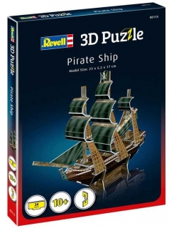 Revell 3D Puzzle Pirate Ship