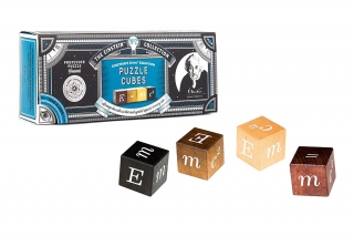 The Einstein Collection E=Mc² Puzzle Cubes