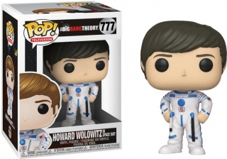 Funko POP! Big Bang Theory-Howard ve skafandru