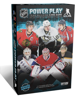 NHL Power Play: Team-­Building Card Game