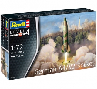 German A4/V2 Rocket (1:72)