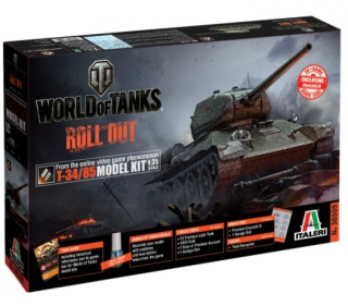 T-34/85 - World of Tanks (1:35)