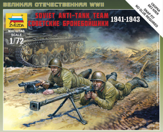 Soviet anti-tank rifle team 1941-1943 (1:72)