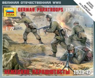 German paratroopers 1939-1942 (1:72)
