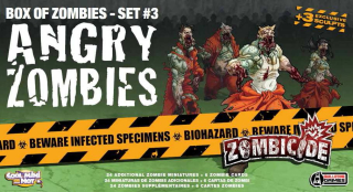Zombicide: Box of Zombies Set #3: Angry Zombies