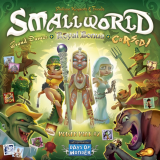 Small World: Power Pack 2 (Royal Bonus, Grand Dames & Cursed!)