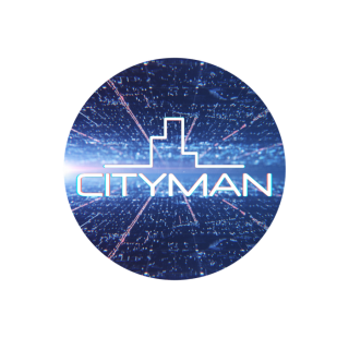 CityMan placka 37mm